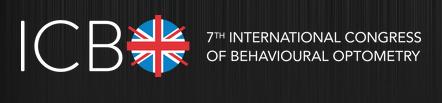 International Congress of Behavioural Optometry ICBO Home