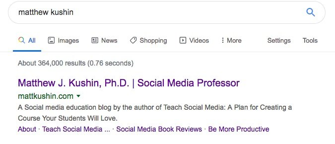 Academic Blogs and SEO