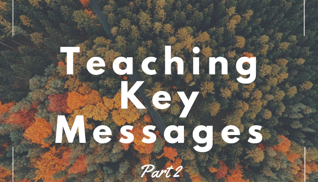 Use this Worksheet in Your Class to Design a Message Map and Key Messages for a Communication Campaign (Part 2 of 2)