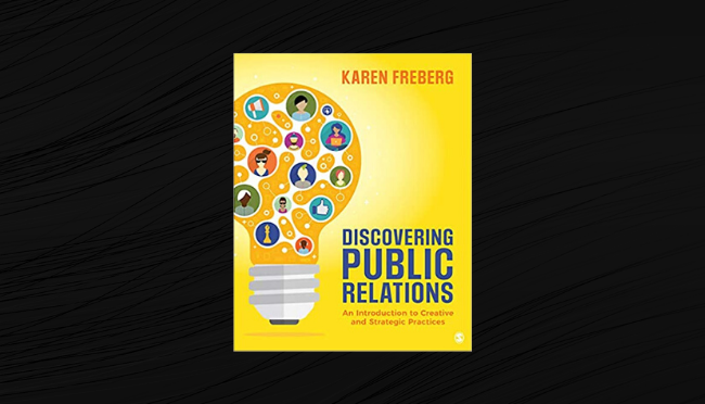 Discovering Public Relations by Karen Freberg [Big Announcement]